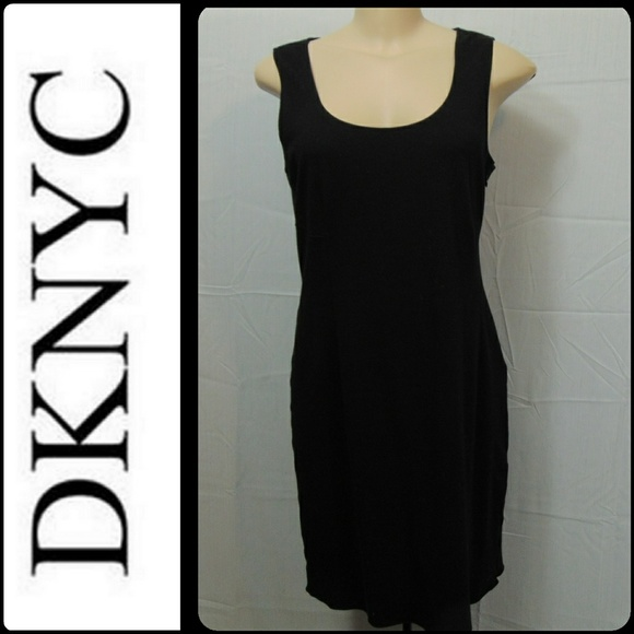 Dknyc Dresses Black Jersey Knit Dress Poshmark